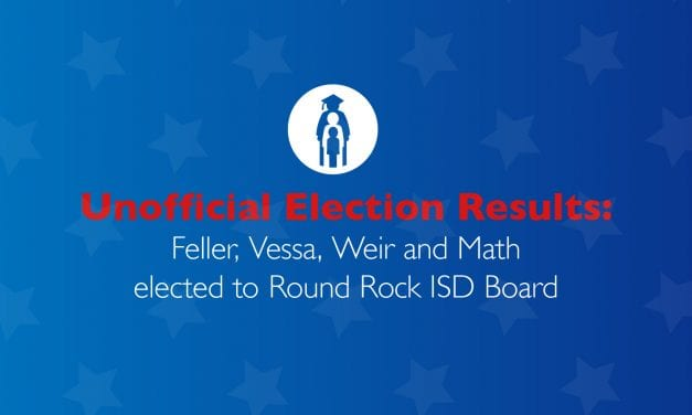 Unofficial Election Results: Feller, Vessa, Weir and Math elected to Round Rock ISD Board