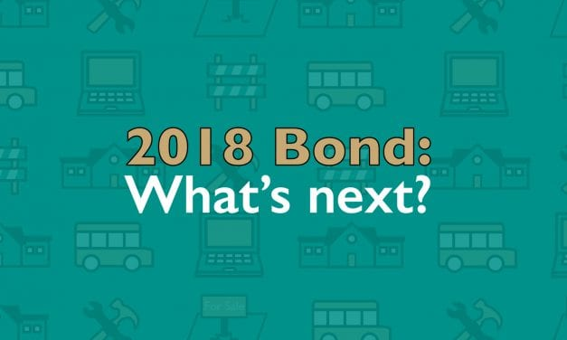 Superintendent's Message: 2018 Bond: What's next?