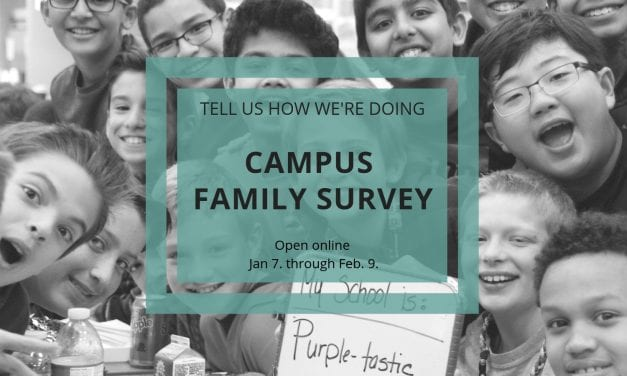 Campus Family Surveys Open Jan. 7