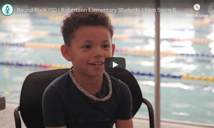 Robertson Elementary Students Learn Swim Safety from YMCA