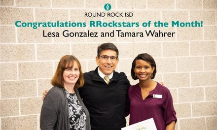 Wahrer, Gonzalez named Superintendent's RROCK STAR for January 2019