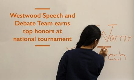 Westwood earns top speech and debate honors at national tournament