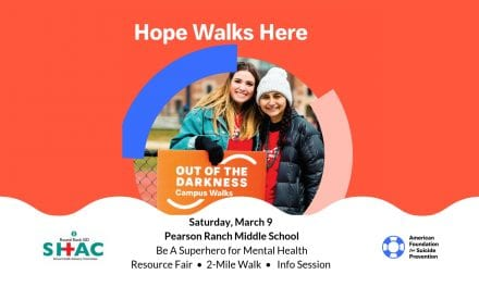 Community Invited to be Superheroes for Mental Health at Hope Walks Here