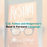 C.D. Fulkes and Ridgeview's Read It Forward Campaign
