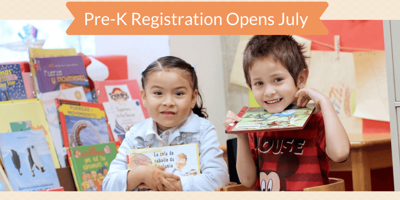 Pre-K Rodeo Registration Event Set For July
