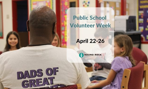 Public School Volunteer Week is April 22-26