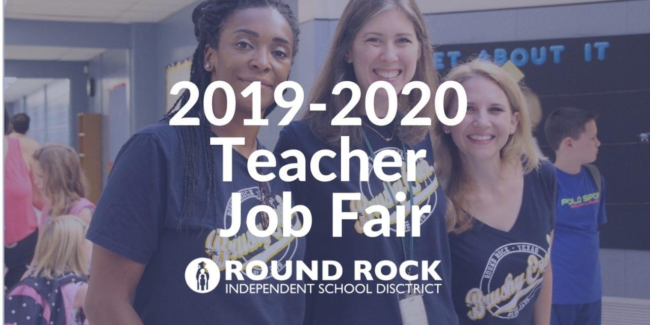 2019-2020 Teacher Job Fair set for April 27