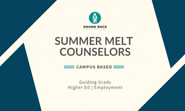 """Summer Melt"" Counselors guide Grads with higher ed, jobs"