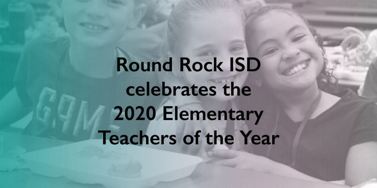 2020 Elementary Teachers of the Year