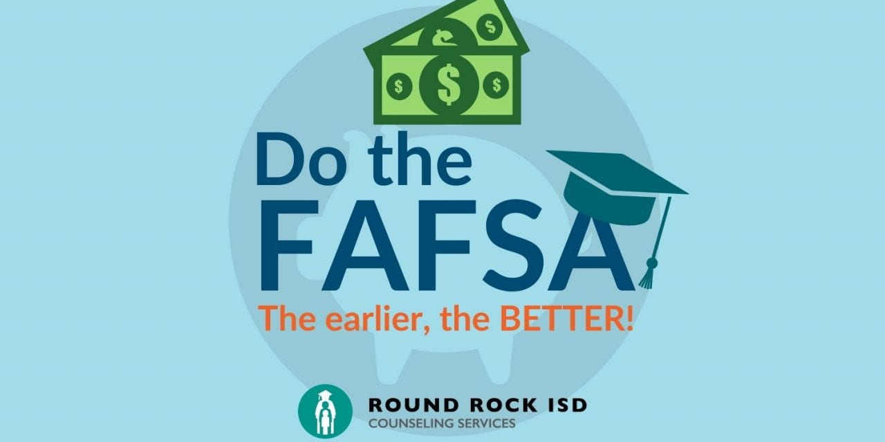 FAFSA opens Oct 1. Seniors encouraged to apply early, with free help