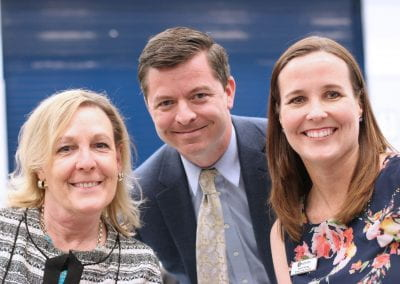 three principals: Blackland Prairie, Cedar Vally Middle School and Brushy Creek Elementary