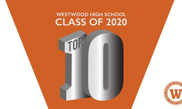 Westwood High School 2020 Top 10