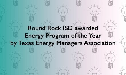 Round Rock ISD awarded Energy Program of the Year by Texas Energy Managers Association