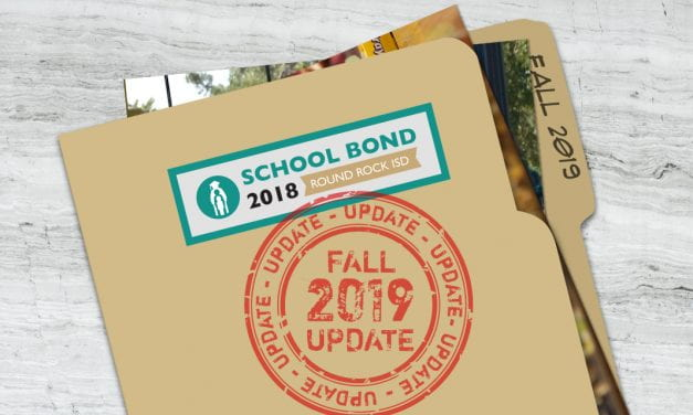Bond 2018 Program Update: Fall 2019