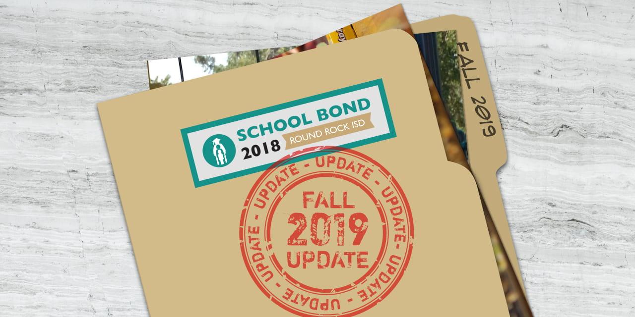 Bond 2018 Program Update: Fall 2019