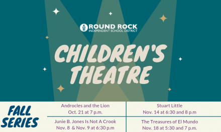 Round Rock ISD Fine Arts presents Children's Theatre Fall Series