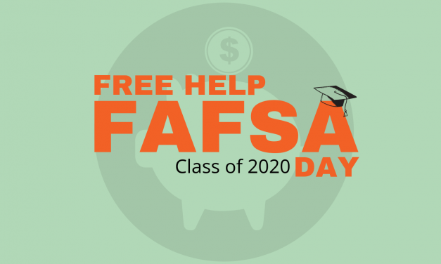 Class of 2020 offered FREE FAFSA help at Oct. 16. FAFSA Day