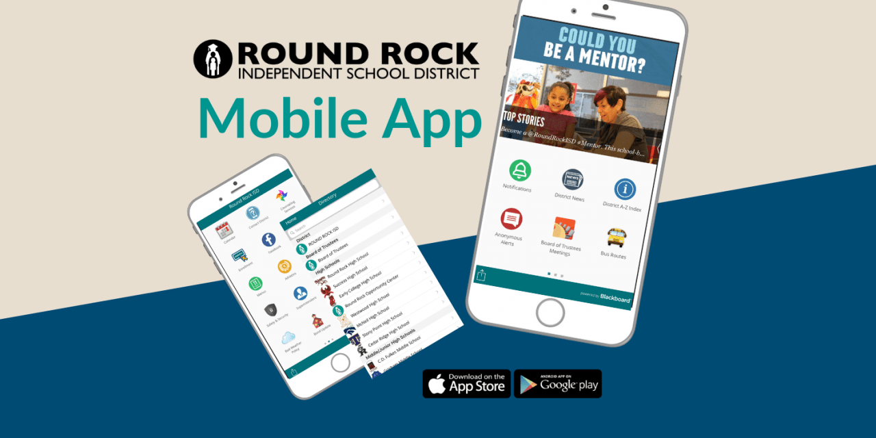 Round Rock ISD Launches Free Mobile App