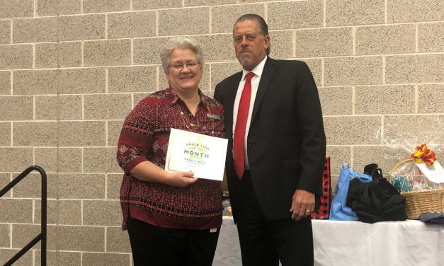 Mica named Superintendent's RROCK STAR for September