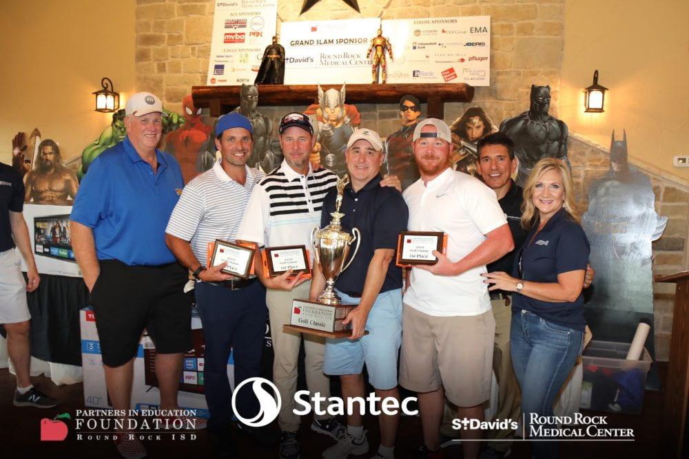PIE Foundation Golf Tournament winners