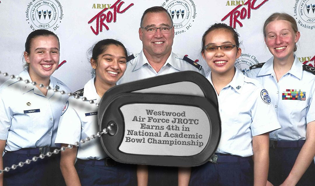 Westwood Air Force JROTC Earns 4th in National Academic Bowl Championship