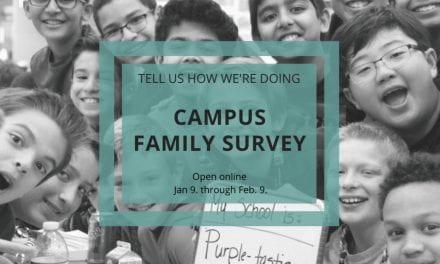 Campus Family Surveys Open January 9