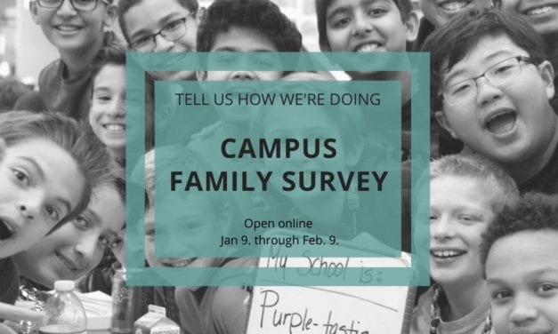 Campus Family Surveys Open January 9.