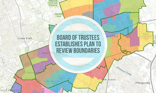 Board of Trustees establishes plan to review boundaries