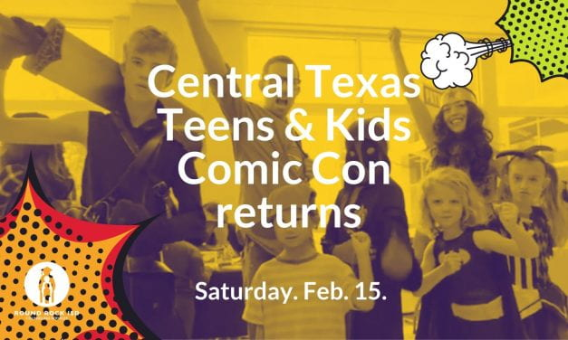 Comic Con returns to Round Rock High School, Feb. 15.