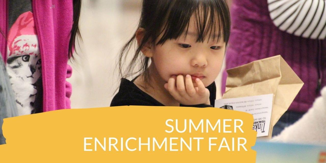 Summer Enrichment Fair to be held Feb. 1