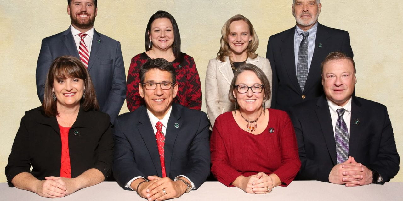 District honors Trustees during School Board Recognition Month