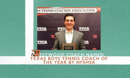 Westwood coach named Texas Boys Tennis Coach of the Year by NFSHSA
