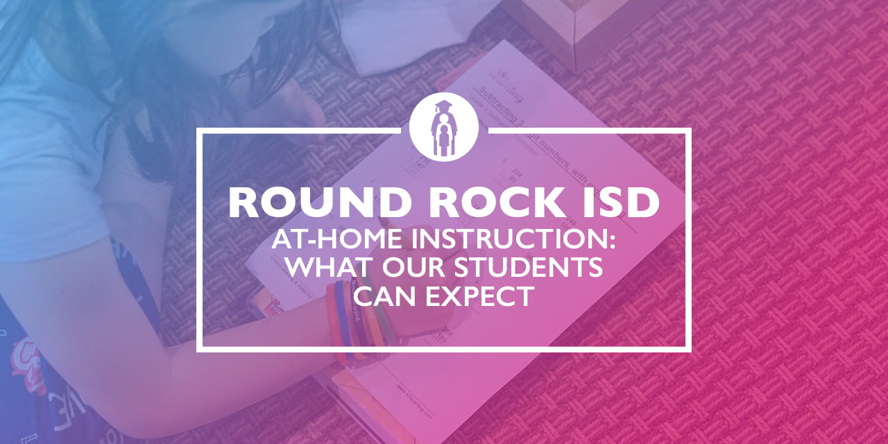 At-home Instruction: What our students can expect