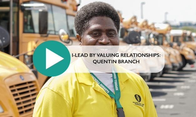 I Lead by Valuing Relationships: Quentin Branch