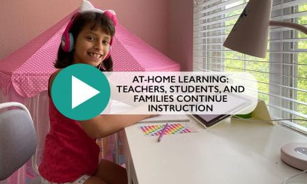 At-home learning: Teachers, students, and families continue instruction