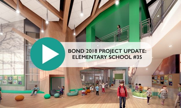 Bond 2018 Project Update: Elementary School #35