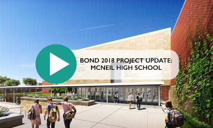 Bond 2018 Project update: McNeil High School