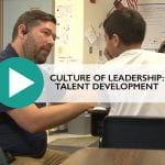 Culture of Leadership::Talent Development