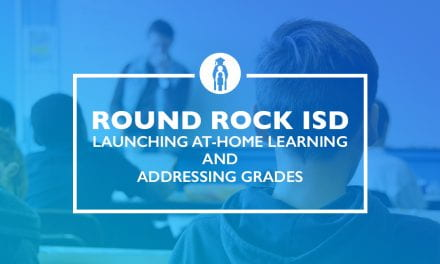 Launching at-home learning and addressing grades
