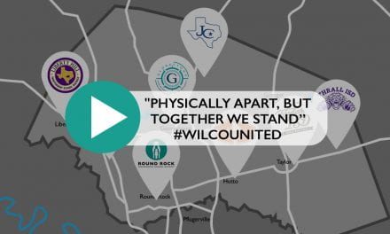 """Physically apart, but together we stand #WilcoUnited"