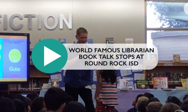 World Famous Librarian Book Talk Tour Stops at Round Rock ISD