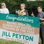 Jill Peyton named Round Rock ISD's 2021 Elementary Teacher of the Year