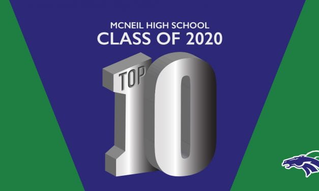 McNeil High School 2020 Top 10