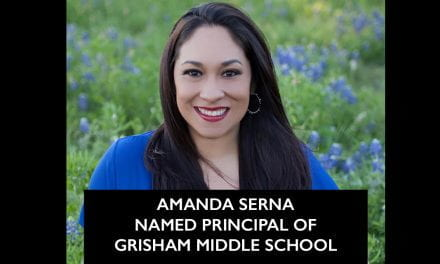 Amanda Serna Named Principal of Grisham Middle School