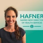 Hafner named new Director of Health Services