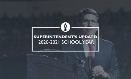 Superintendent's Update: 2020-2021 school year