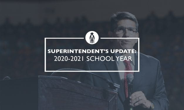 Superintendent's Update: 2020-2021 school year