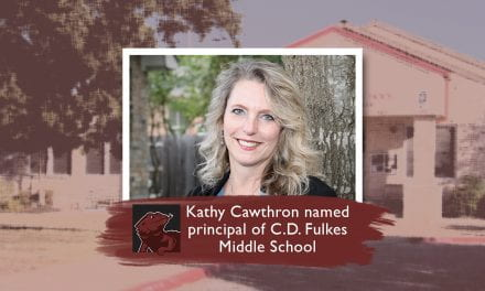 Kathy Cawthron Named Principal of C.D. Fulkes Middle School