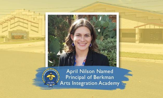April Nilson Named Principal of Berkman Arts Integration Academy