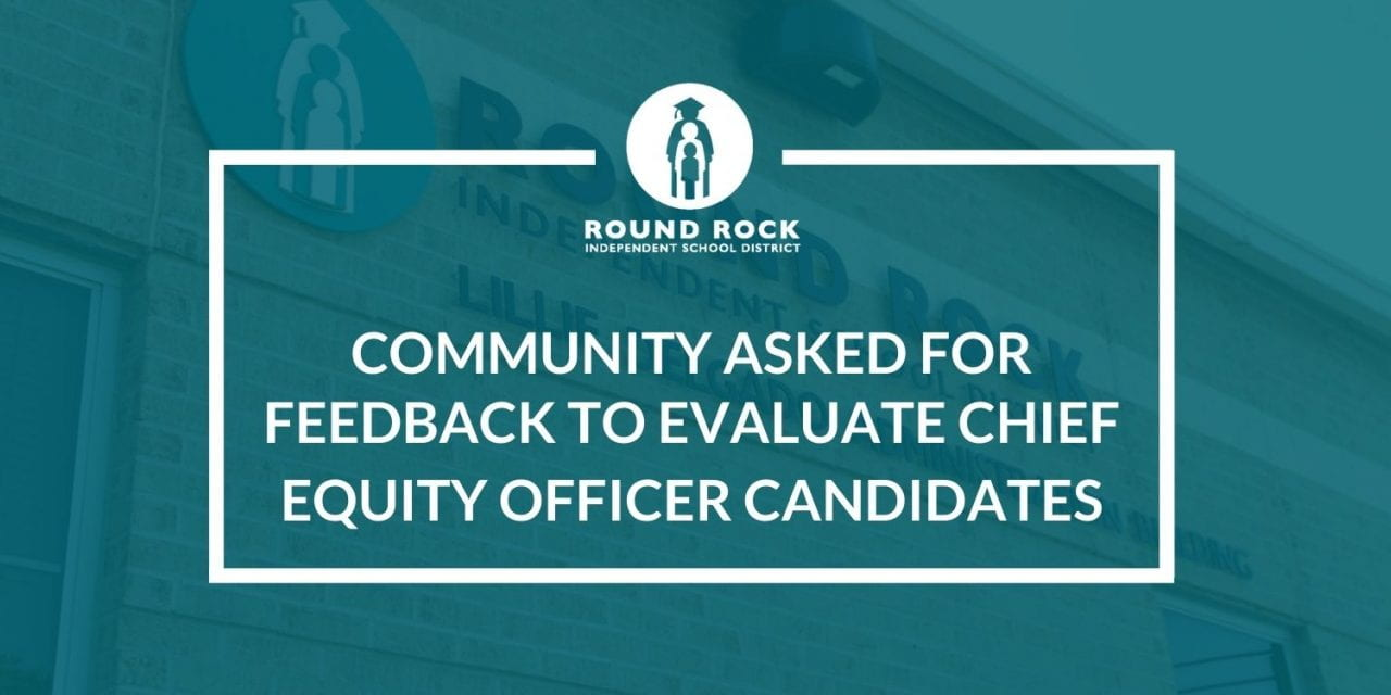 Community asked for feedback to evaluate Chief Equity Officer candidates